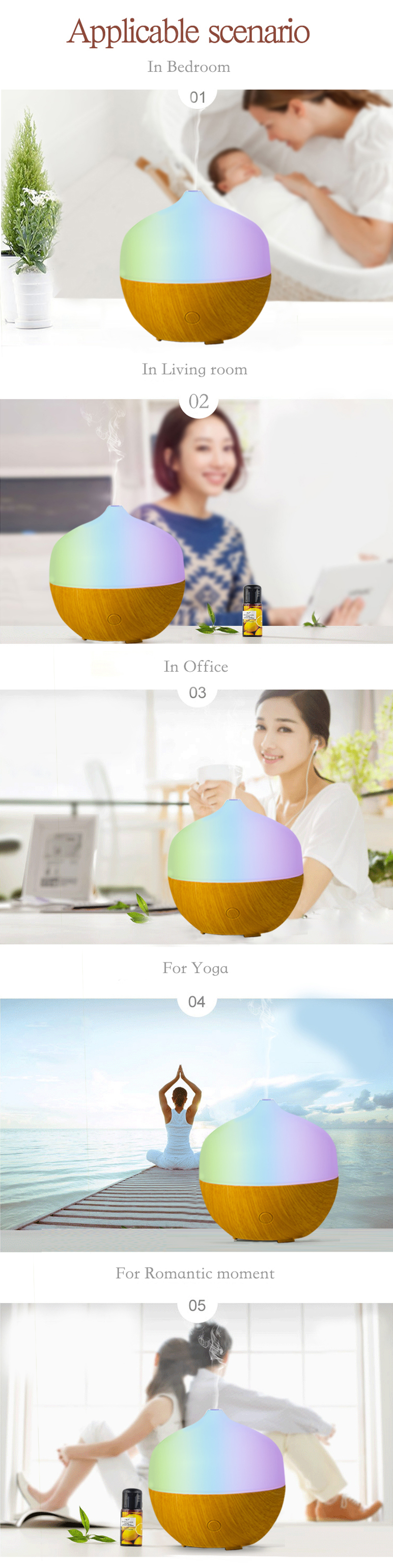Aroma Diffuser Application