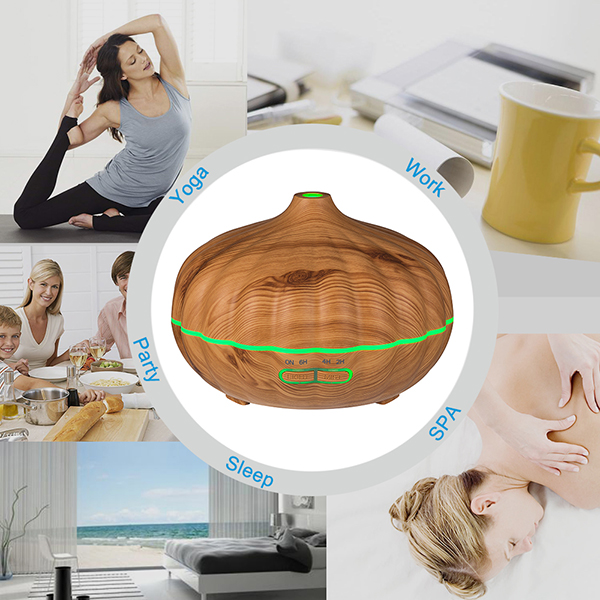 HIDLY Wood Aroma Diffusers