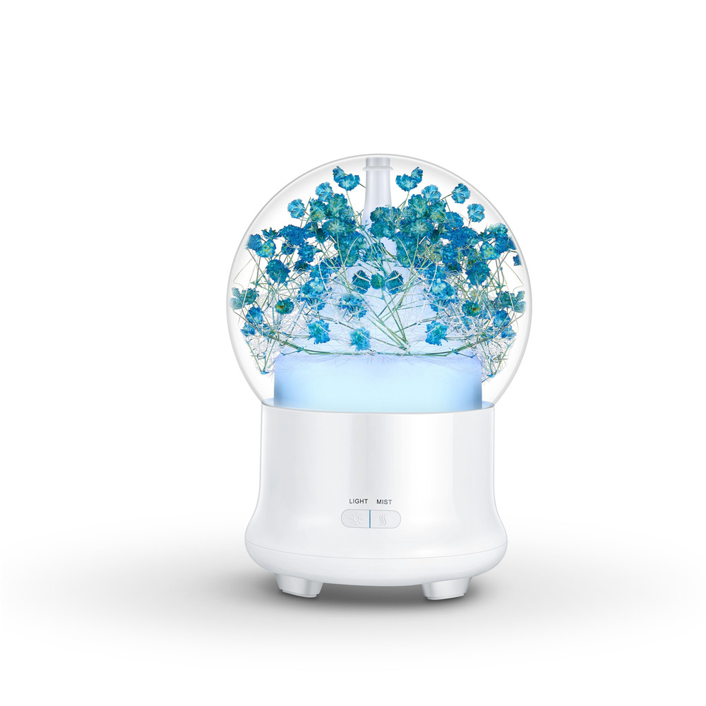 Preserved flower aroma diffuser