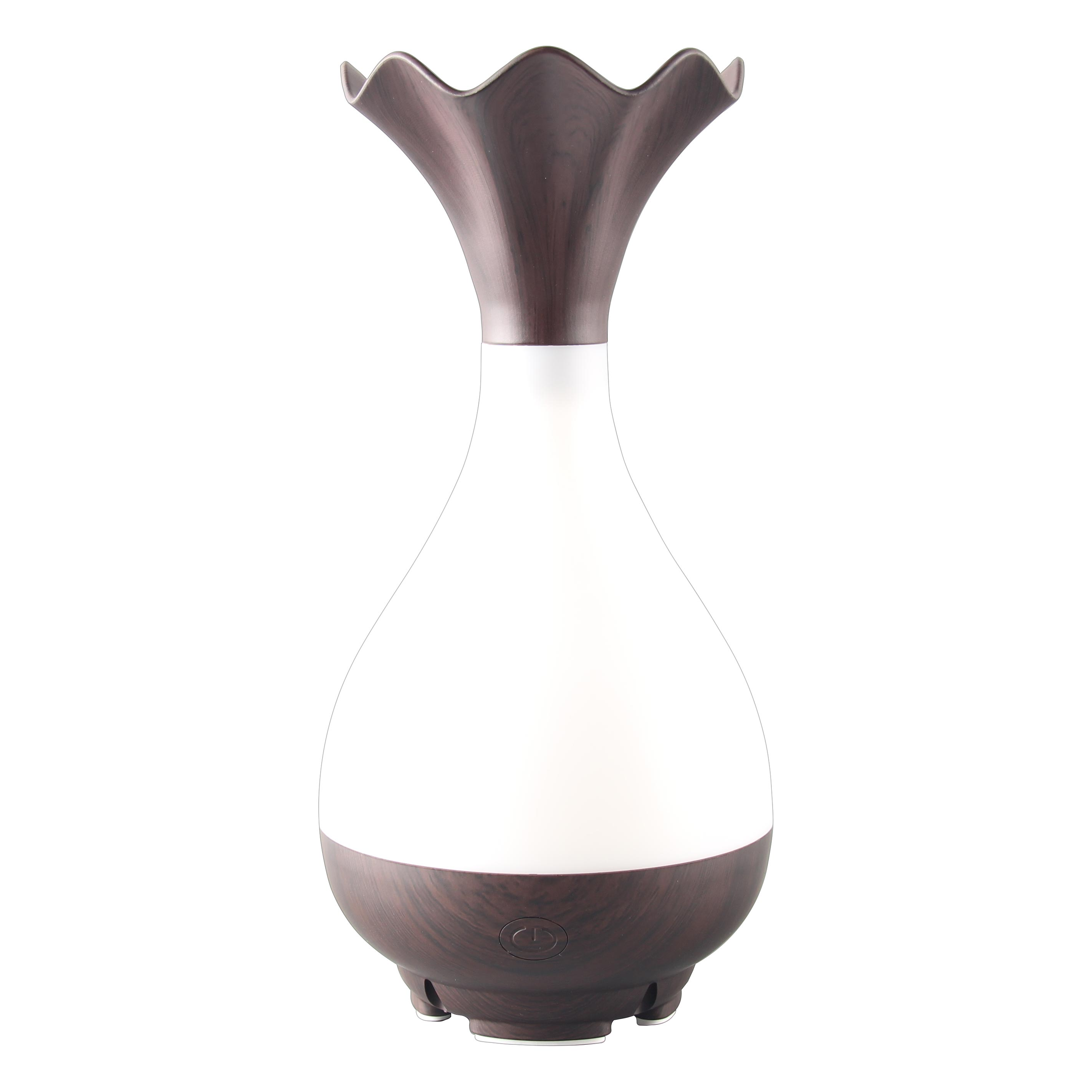 Vase Shape Woodgrain Oil Diffuser-H1122B title=