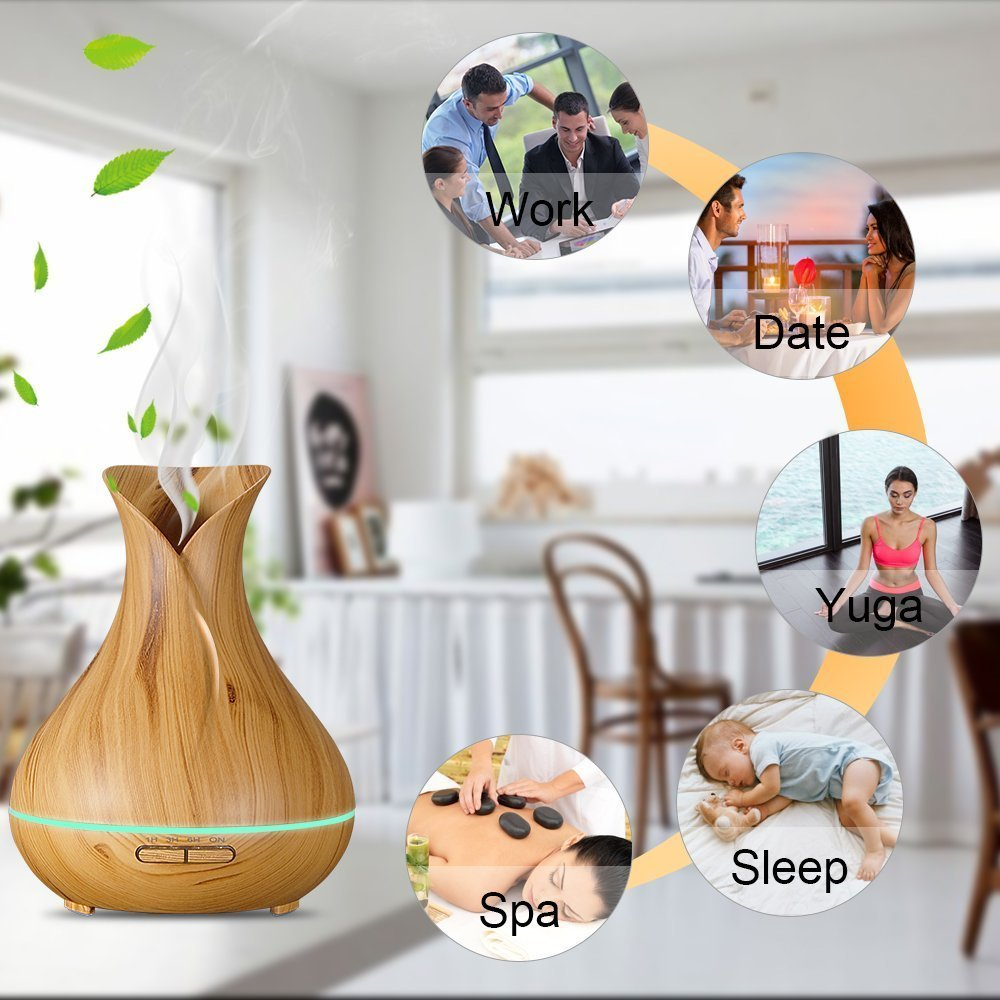 Flower Wood Aroma Diffusers
