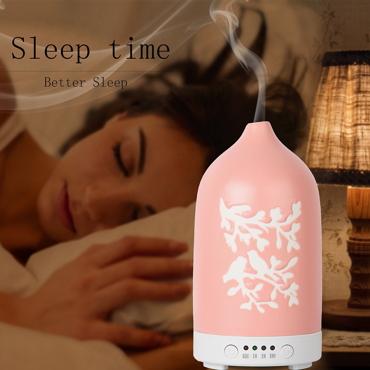 Pink Ceramic Aroma Diffusers